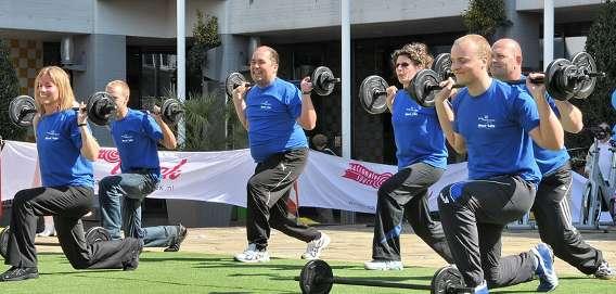 Teamwork Group Exercise