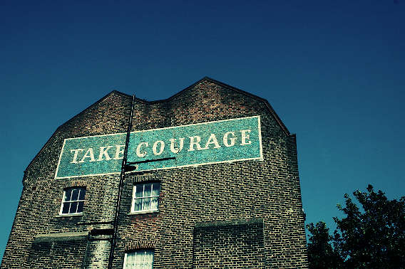 Meeting courage