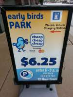 Typical Early Bird Special Sign