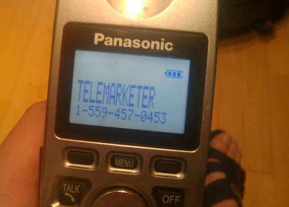 Telemarketers and spammers